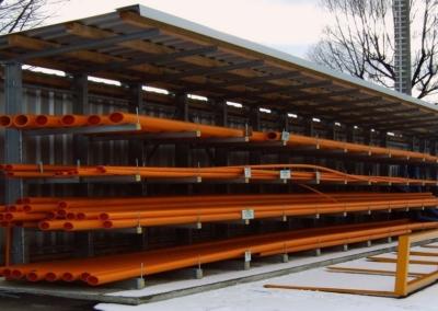ArmStrong-LG-Kragarmregal für Rohre, Langgut, Holz für den Aussenbereich