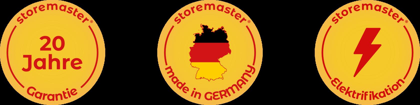 20 Jahre Garantie - Hergestellt in Deutschland - Elektrifikation möglich