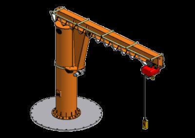 Säulenschwenkkran