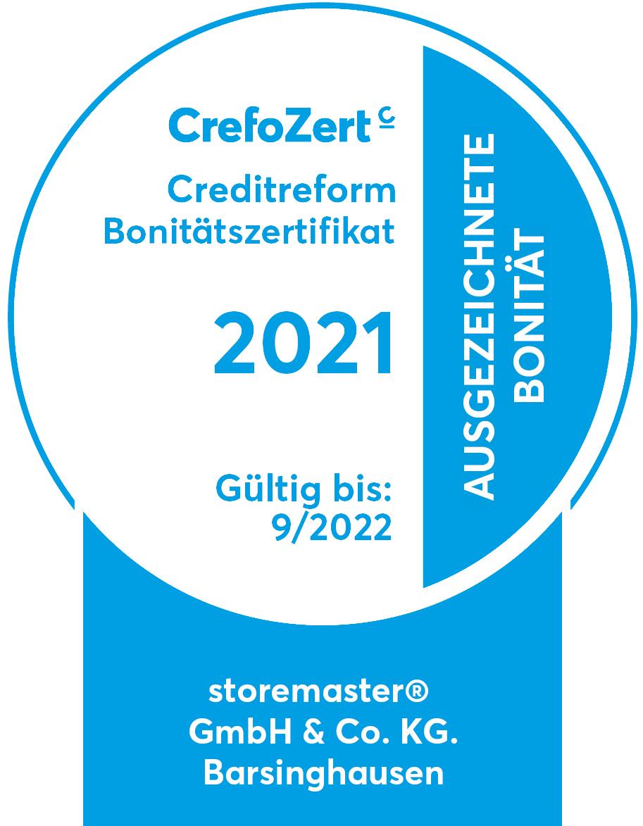 Creditreform Bonitätszertifikat 2020
